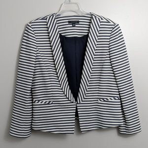 Ann Taylor size 12 striped blazer